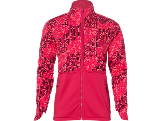 LITE-SHOW WINTER JACKET, Lite Stripe Cosmo Pink