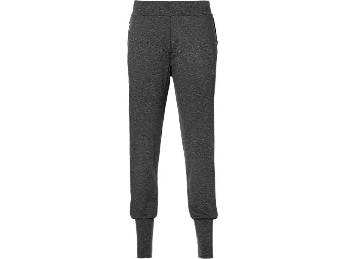 Front Top view of Thermopolis Pants, DARK GREY HEATHER