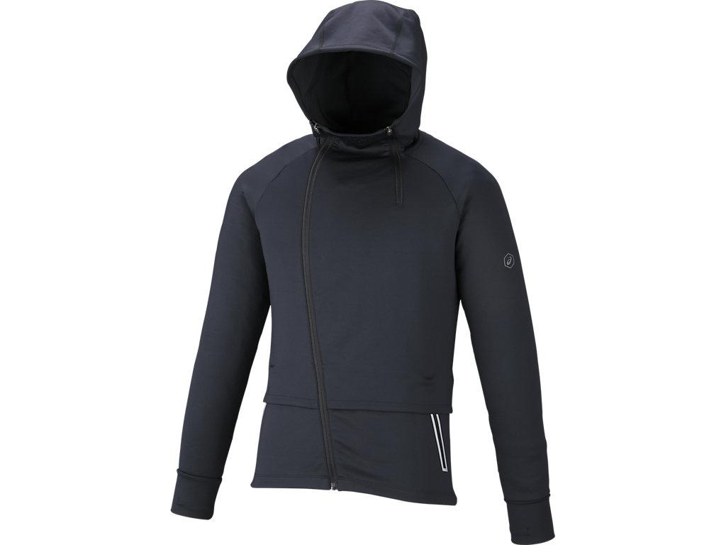 ランニングニットジャケット:パフォーマンスブラック