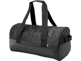Front Top view of TRAINING GYMBAG, PERFORMANCE BLACK