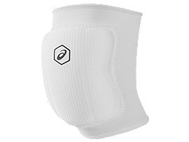 Front Top view of BASIC KNEEPAD, WHITETBD