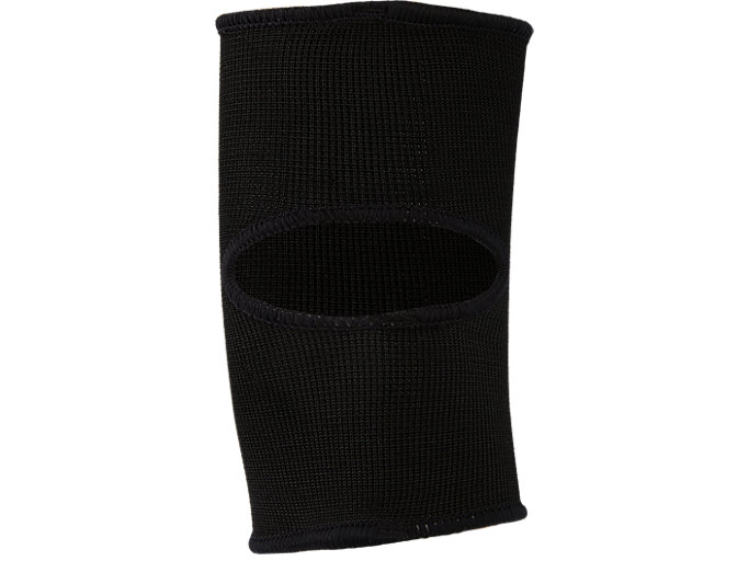 Back view of BASIC KNEEPAD, PERFORMANCE BLACK
