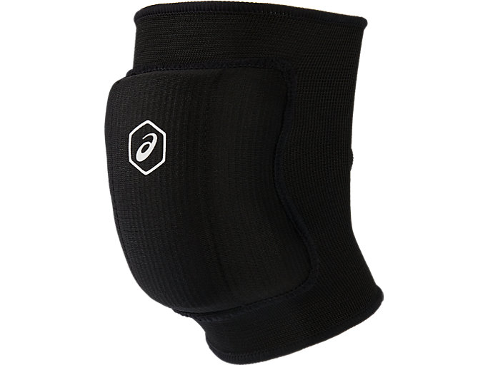 Front Top view of BASIC KNEEPAD, PERFORMANCE BLACK