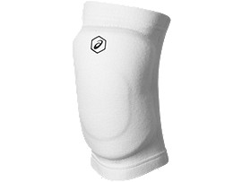 Front Top view of GEL KNEEPAD, WHITE