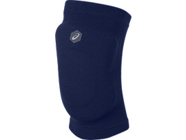 Front Top view of GEL KNEEPAD CPS, INDIGO BLUE