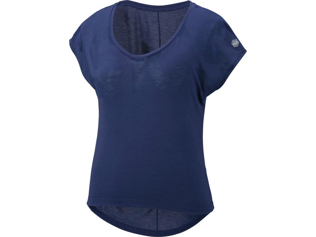 W'SトレーニンググラフィックTシャツ:インディゴブルー