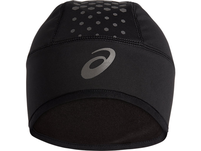 Front Top view of GORRO DE INVIERNO, PERFORMANCE BLACK