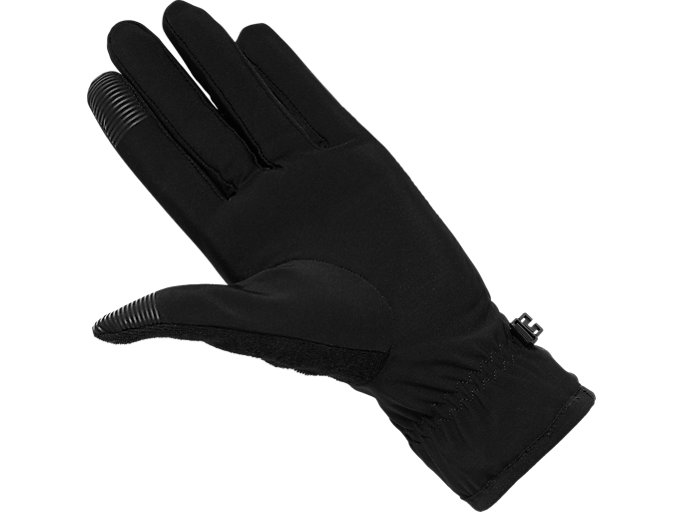 Back view of WINTER PERFORMANCE GLOVE, PERFORMANCE BLACK