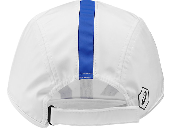 Back view of TRAINING CAP, REAL WHITE