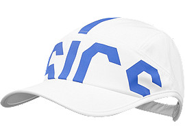 Front Top view of TRAINING CAP, REAL WHITE
