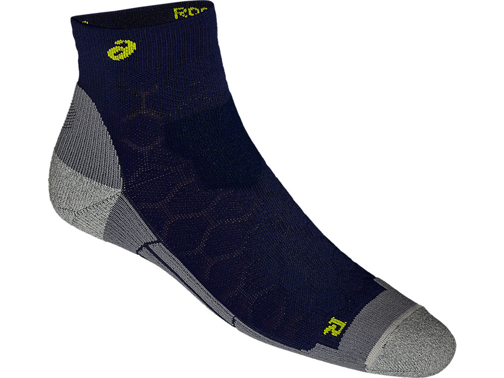asics quarter running socks