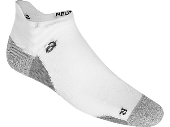 ROAD NEUTRAL ANKLE SINGLE TAB, REAL WHITE/ MID GREY