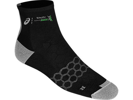 SPEED SOCK QUARTER, PERFORMANCE BLACK
