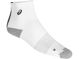 SKARPETKI SPEED SOCK QUARTER, REAL WHITE