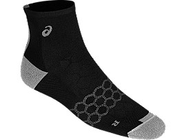 SKARPETKI SPEED SOCK QUARTER, PERFORMANCE BLACK