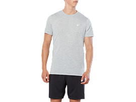 SPORT TRAIN TOP, GREY HEATHER