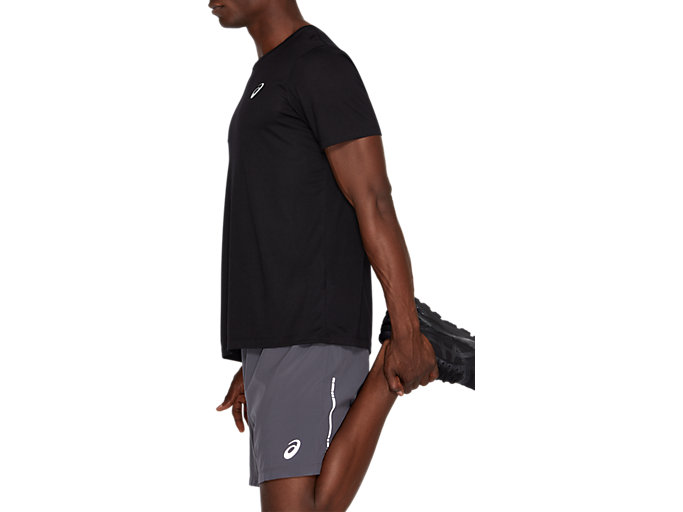 Side view of SPORT TRAIN TOP, PERFORMANCE BLACK