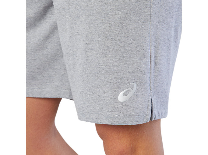 Alternative image view of TRAINING SHORT, HEATHER GREY