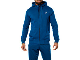 Front Top view of SPORT KNIT HOOD, POSEIDON