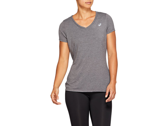 Women's SPORT TRAIN TOP | DARK GREY HEATHER | Camisetas de ...