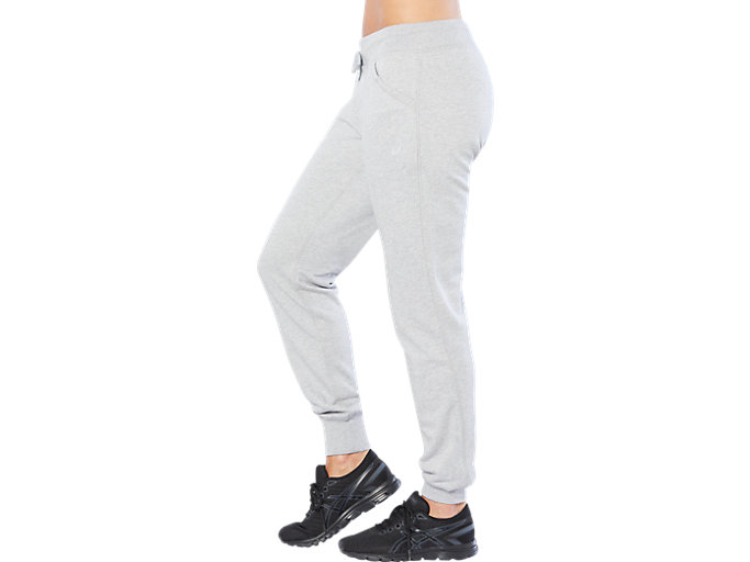 Alternative image view of SPORT KNIT PANT, HEATHER GREY