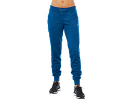 Front Top view of SPORT KNIT PANT, POSEIDON