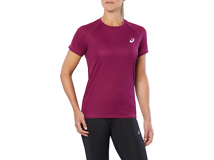 asics womens running top