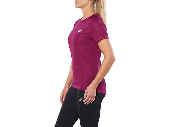 Alternative image view of SPORT RUN TOP, PRUNE