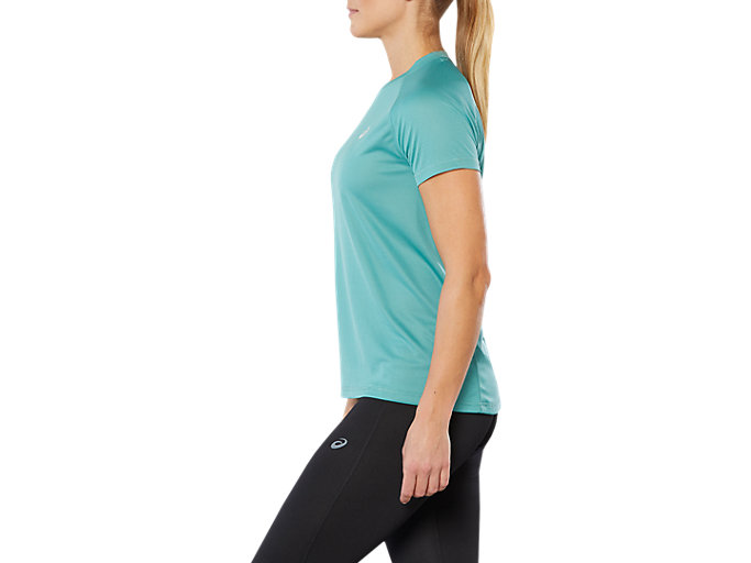 Side view of SPORT RUN TOP, SAGE
