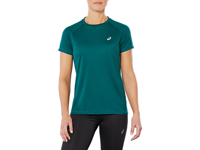 super popular 5c0b3 8fd58 SPORT RUN TOP | Women | EVERGLADE | Women's Short Sleeve ...