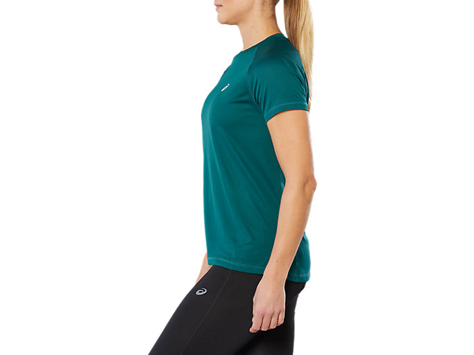 Side view of SPORT RUN TOP, EVERGLADE