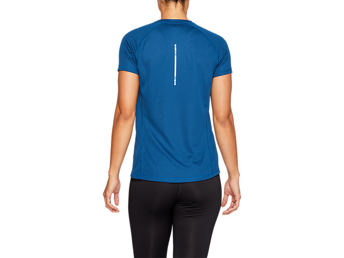 Back view of SPORT RUN TOP, POSEIDON