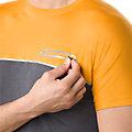 男士运动fuzeX短袖T恤: 金色