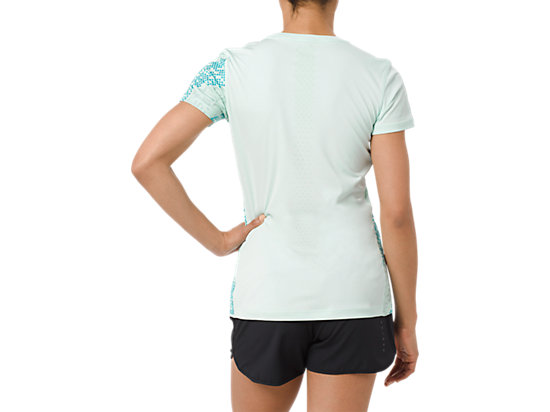 LITE-SHOW SS TOP LITE STRIPE GLACIER SEA
