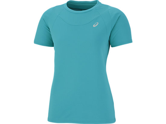W' SHORT SLEEVE TOP ARTIC AQUA
