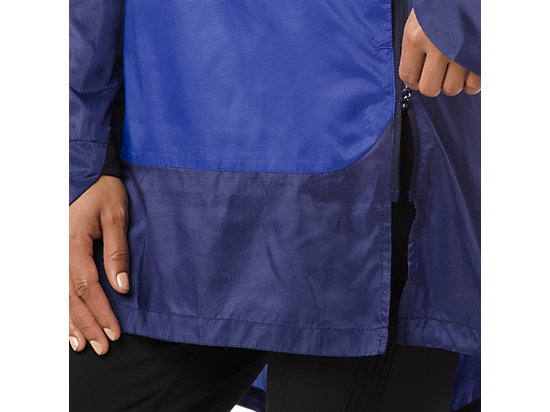 LIGHT WEIGHT ANORAK BLUE PURPLE