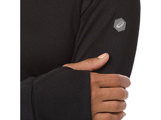女長袖上衣 BLACK