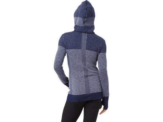SEAMLESS JACKET INDIGO BLUE