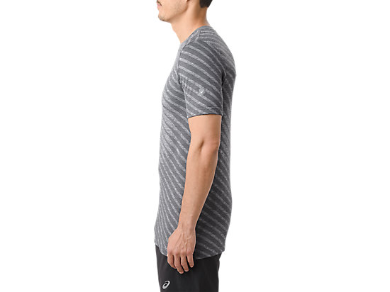 SEAMLESS SS BASE DARK GREY HEATHER