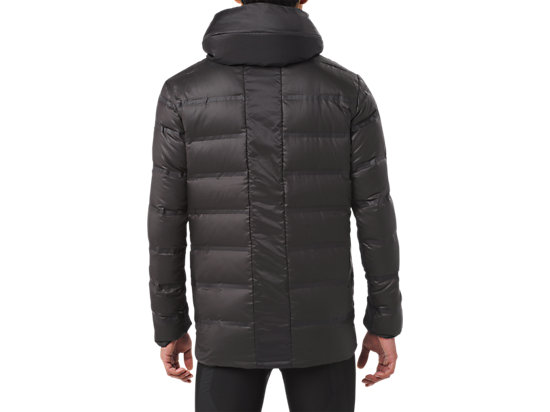 MED WEIGHT DOWN JACKET PERFORMANCE BLACK