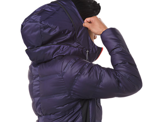 MED WEIGHT DOWN JACKET ASTRAL BLUE