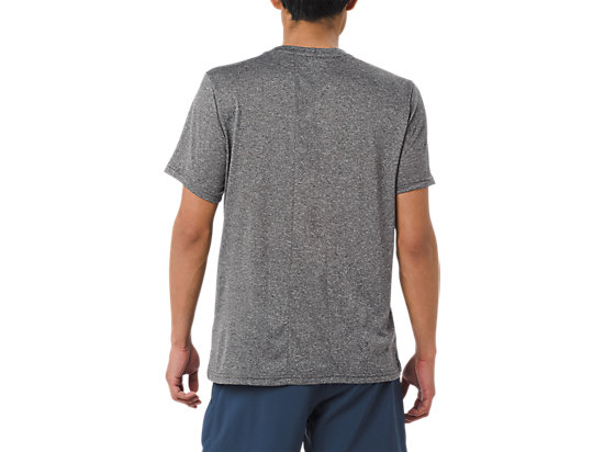 GRAPHIC SS TEE CHARCOAL GREY HEATHER