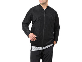 WOVEN BOMBER JACKET, Performance Black