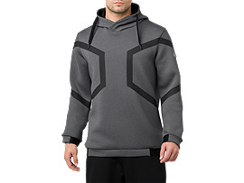 Hexagon Pull Over Hoodie