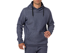 PULL OVER HOODIE, PEACOAT HEATHER