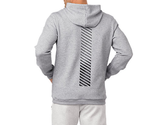 PULL OVER HOODIE STONE GREY HEATHER