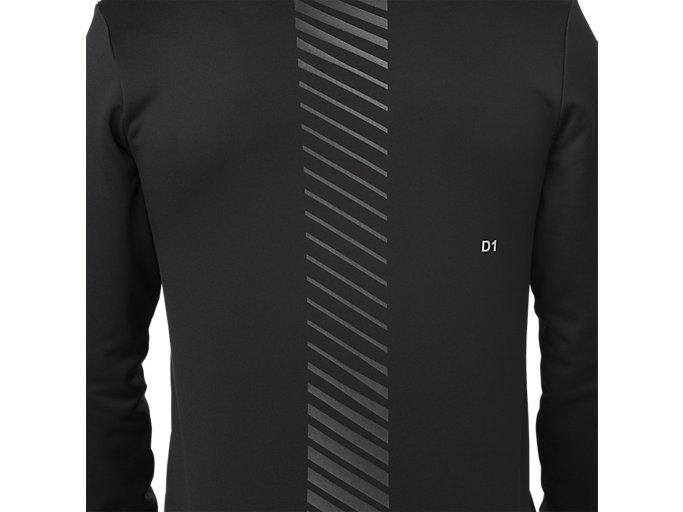 Alternative image view of W-REPEL KNIT FZ JKT, PERFORMANCE BLACK