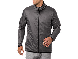 SD PACKABLE JACKET, CARBON