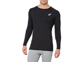 BASELAYER LS TOP, PERFORMANCE BLACK