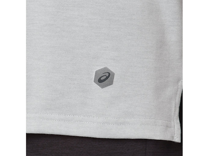 Alternative image view of POWER SS TOP, MID GREY HEATHER